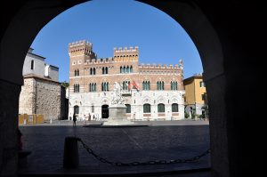 Photography of Piazza Dante in Grosseto
