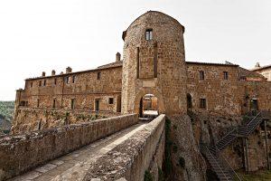 Photography of Orsini Castle in Sorano