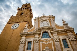 Photography of Pitigliano Cathedral