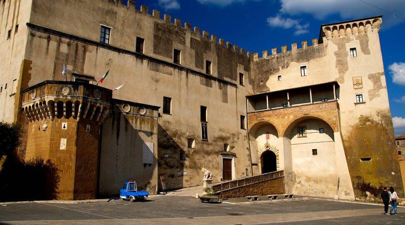 Photography of Pitigliano: Palazzo Orsini