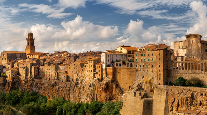Photography of Pitigliano - panoramic view