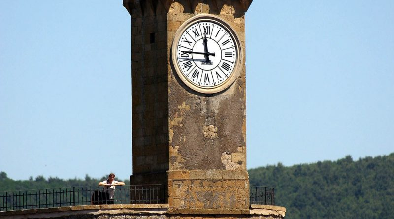 Photography of Torre dell'Orologio in Sorano