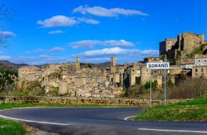 Photography: Panoromic View from the entrance of Sorano