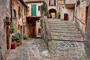 Photography of picturesque corner in Sorano