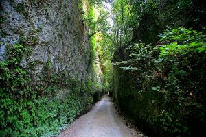 Photography of Vie Cave in Sovana